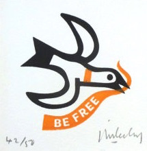 Be Free Seagull - Black