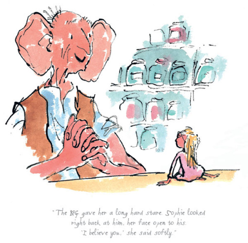 The BFG Gave Her A Long Hard Stare