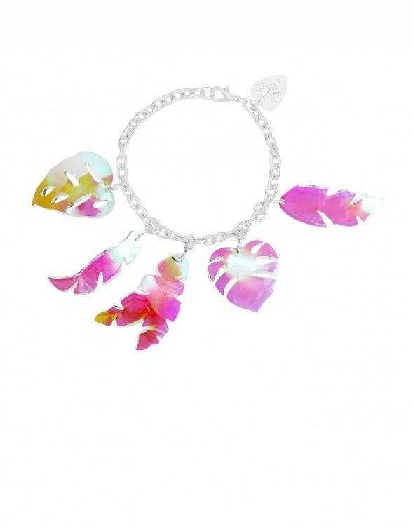 Tropical Leaves Bracelet