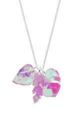 Tropical Leaves Charm Necklace