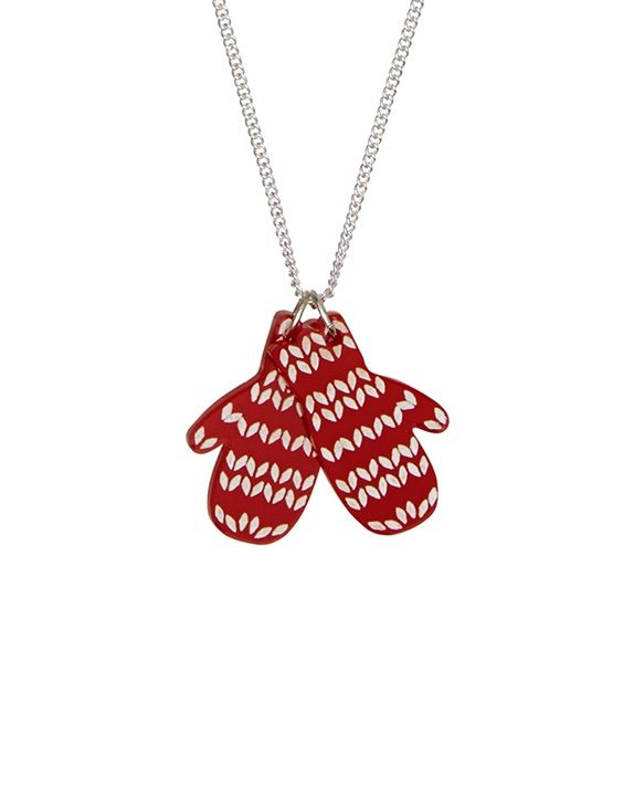 Mittens Necklace