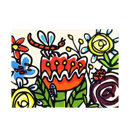 Crazyfloral Small Poster