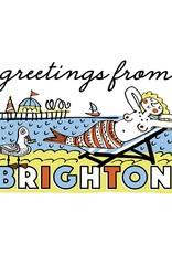 Brighton Mermaid Small Poster