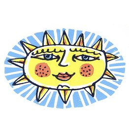 Blue Eyed Sun Small Poster
