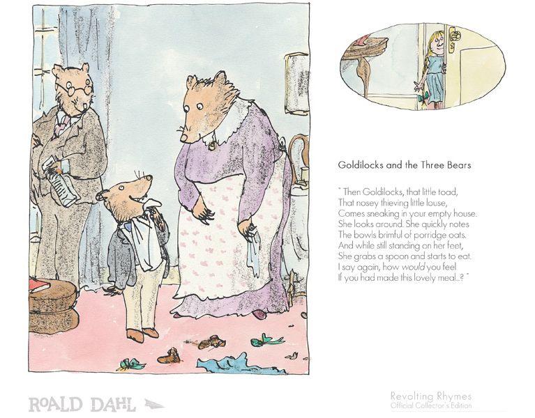 Goldilocks and the Three Bears - Revolting Rhymes
