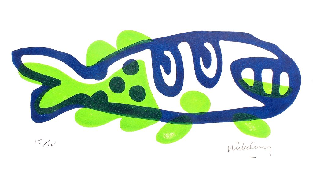Grinning Fish (Lime)