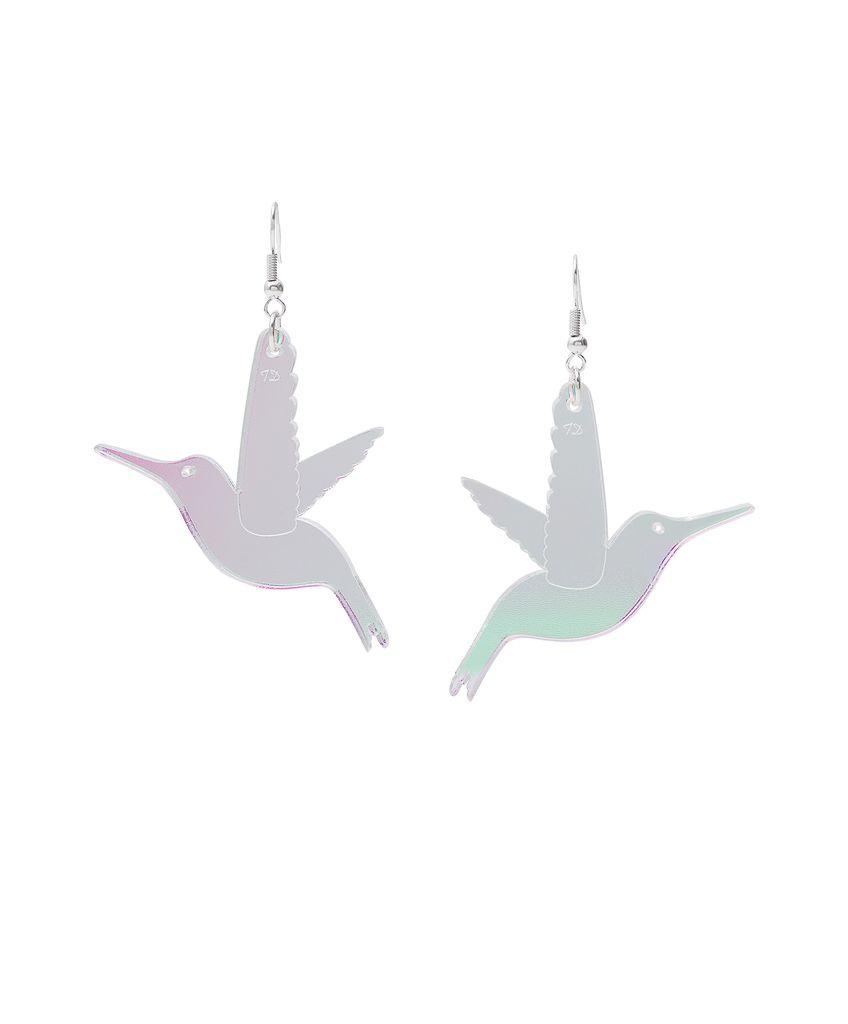 Hummingbird Earrings - Iridescent