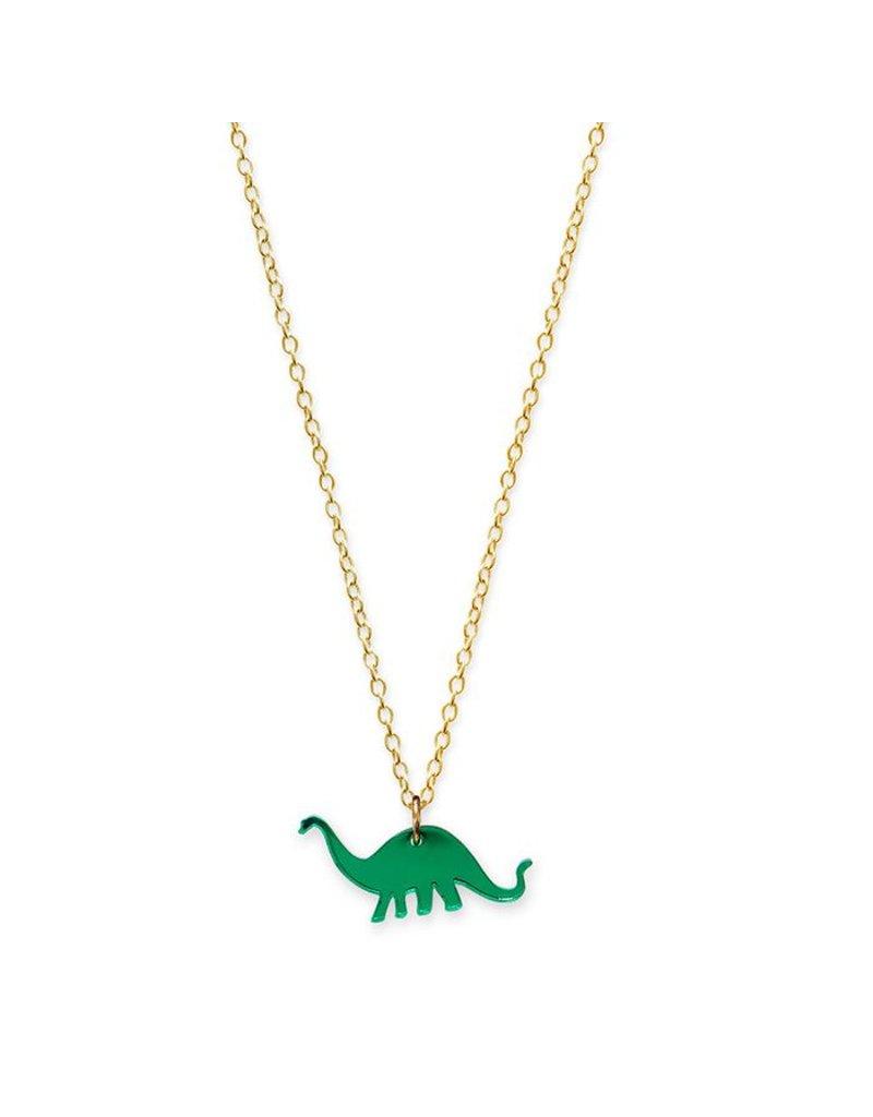 Mini Apatosaurus Necklace