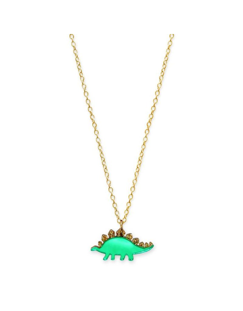 Mini Stegosaurus Necklace