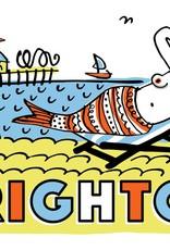 Brighton Mermaid large poster