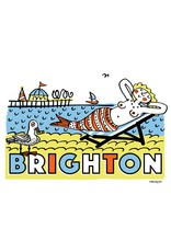 Brighton Mermaid large poster
