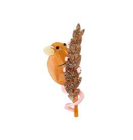 Harvest Mouse Brooch