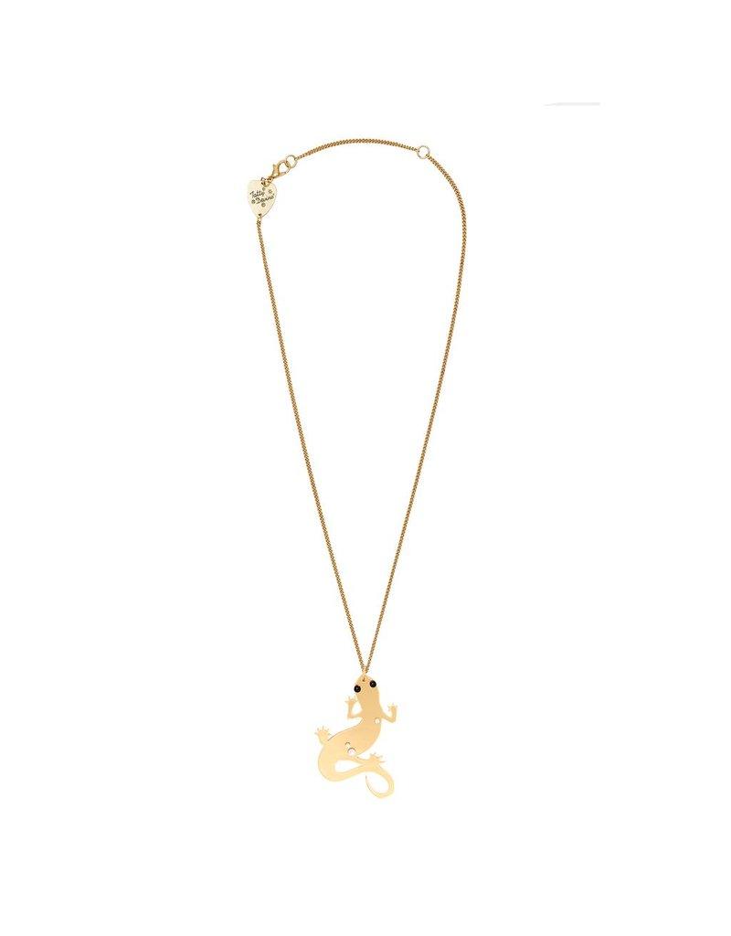 Golden Newt Mini Pendant