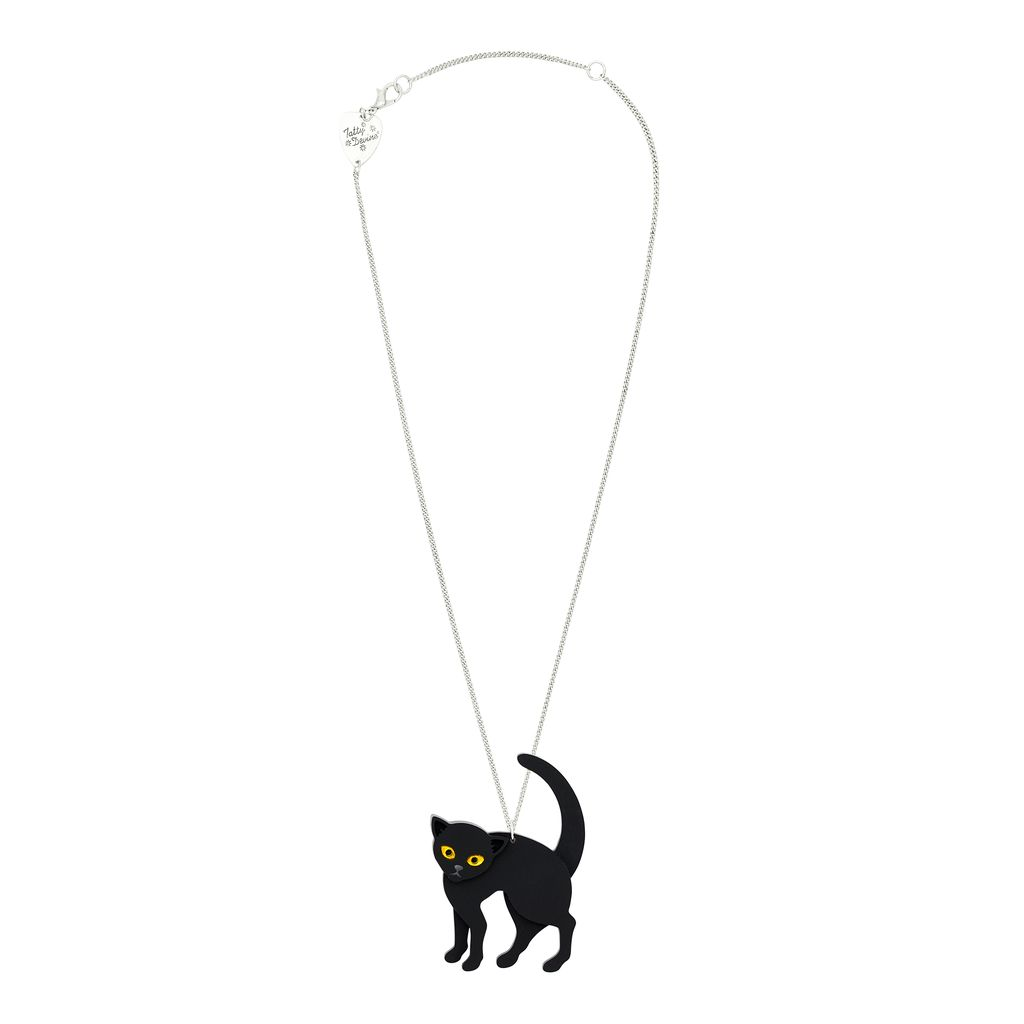 Witches Cat Necklace