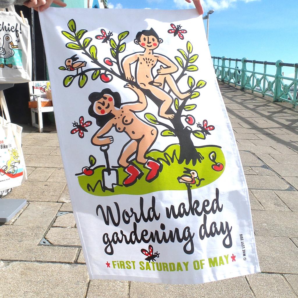 World Naked Gardening Day