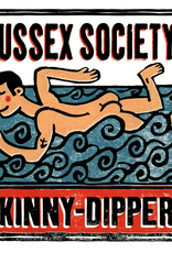 Sussex Skinnydipper Small Poster