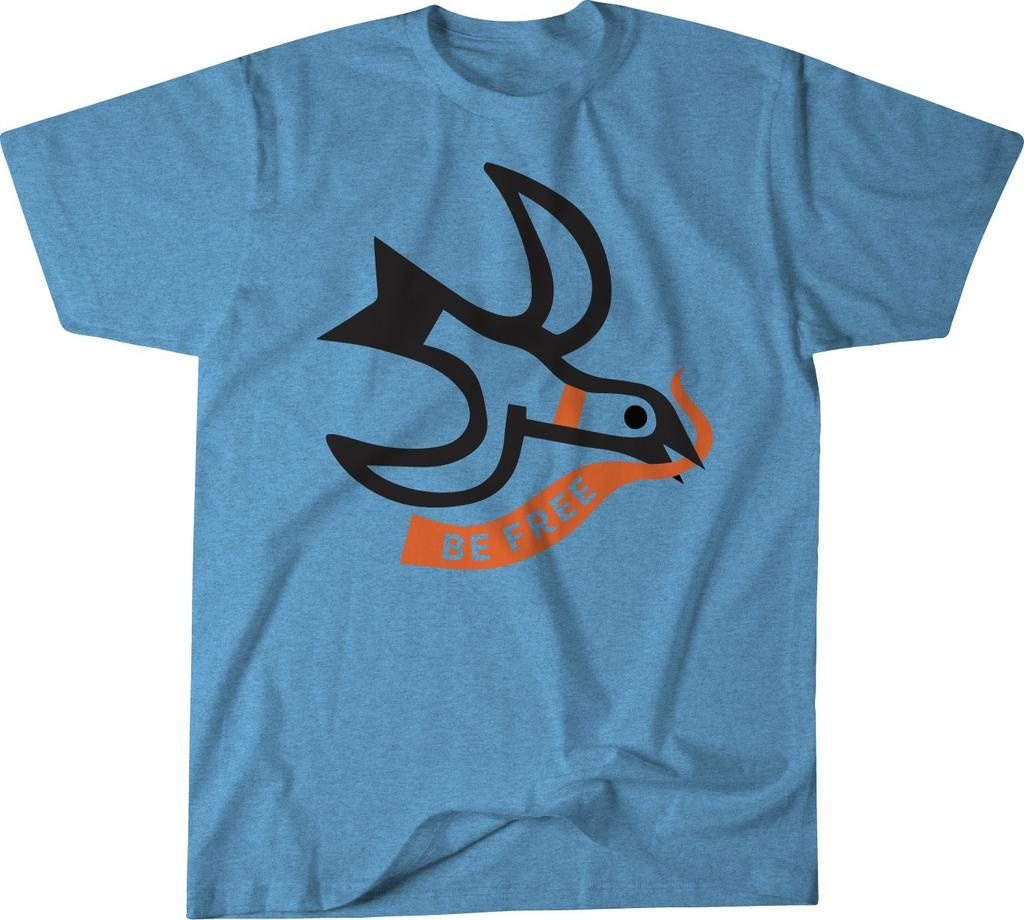 Be Free Seagull T-shirt