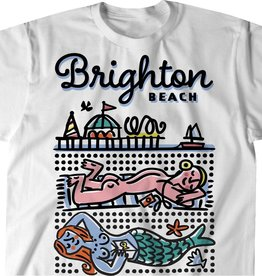 Sunbathers, Brighton Beach T-shirt