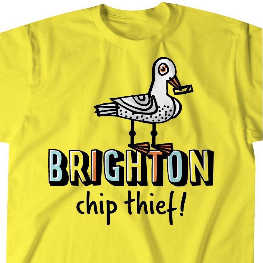 Brighton Seagull T-shirt