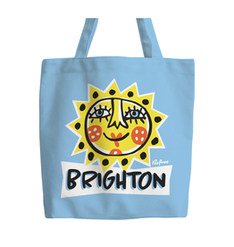 Brighton Sunface tote bag