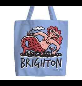 Brighton Party Mermaid tote bag