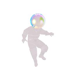 Astronaut Brooch