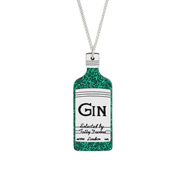 Glitter Gin Necklace