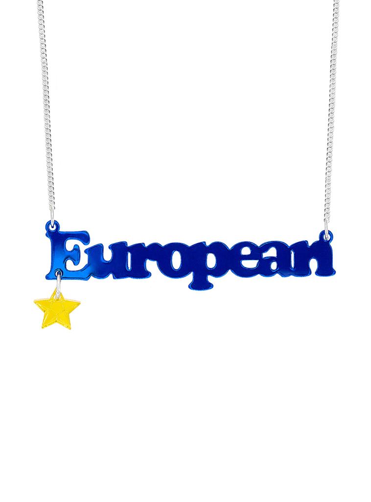 European Necklace - Mirror