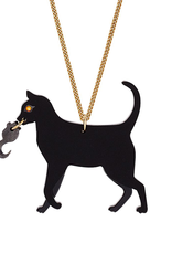 Cat and Mouse Necklace