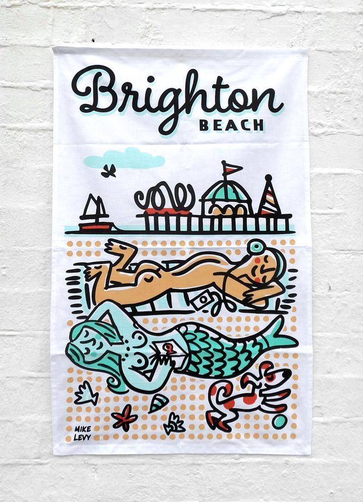 Brighton Beach sunbathers