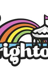 Brighton Rainbow Logo Greeting Card