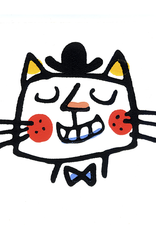 Boss Cat Greeting Card