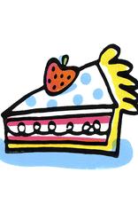 A Bigger Slice greeting card
