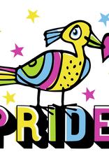 Pride Bird Greeting Card