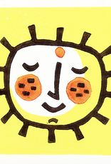 Lemon Sun Greeting Card