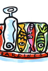 Tin 'o' Sardines Greeting Card