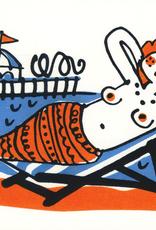Seaside Mermaid Greeting Card