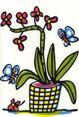 Cymbidium Greeting Card