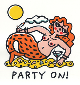 Party On! Greeting Card
