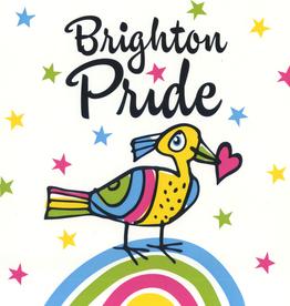 Brighton Pride Bird Greeting Card