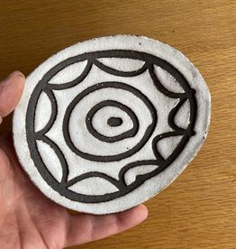 Stoneware sweet dish