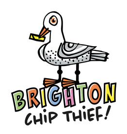Brighton Chip Thief Greetings Card