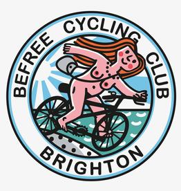 Be Free Cycling Club Greetings Card