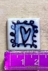 Porcelain small square tile