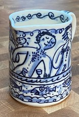 Porcelain milk jug