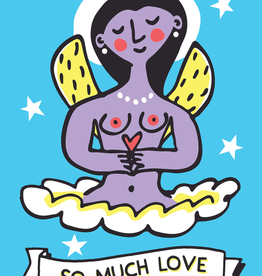 Byzantine Angel So Much Love large poster