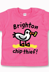 Brighton Chip Thief baby t-shirt