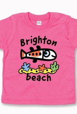 Brighton Beach Fish baby t-shirt