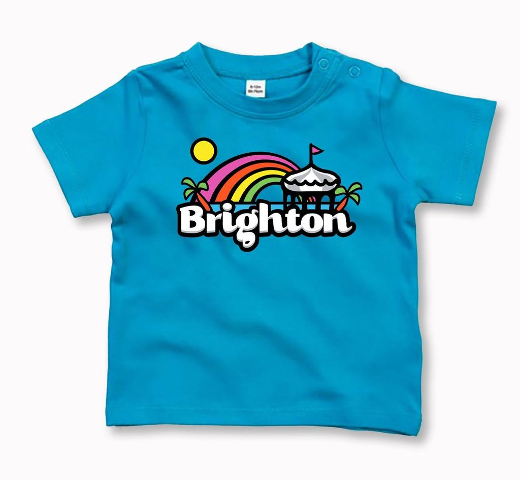 Brighton Rainbow baby t-shirt