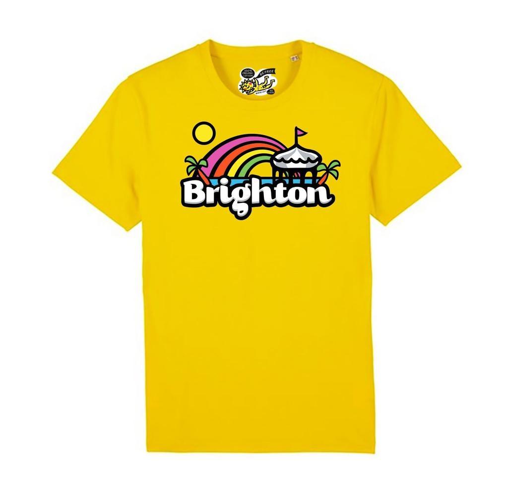 Brighton Rainbow adult's t-shirt